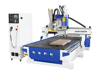 Linear ATC CNC wood carving machine with SYNTEC Control System