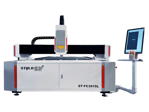 Fiber laser cutting machine 1200W laser cut metal signs