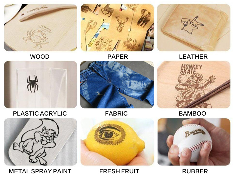 The Fifth Picture of STYLECNC® CO2 laser wood engraver for iphone case