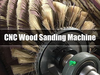What is a CNC wood sanding machine used for?