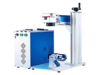 New Design Fiber Laser Engraving Machine for Color Marking