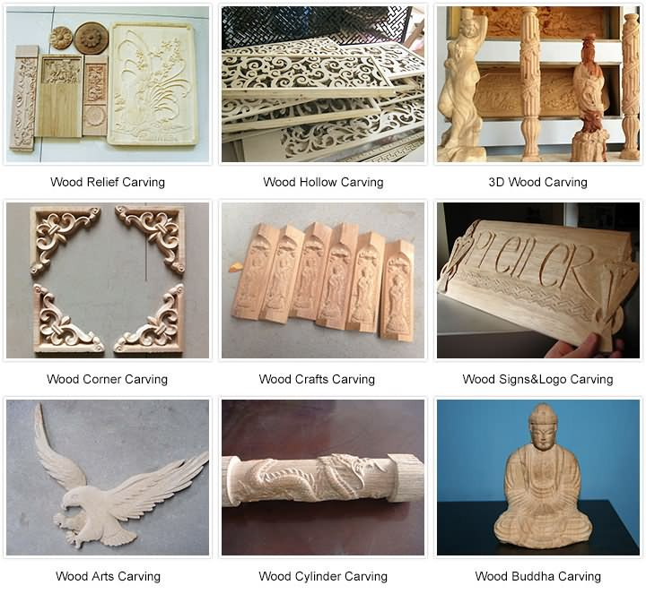 Small Hobby CNC Router projects for woodworking