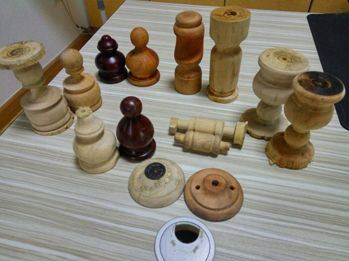 The Third Picture of STYLECNC® Small Wood Lathe for woodturning