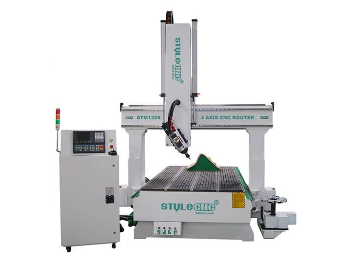 The First Picture of STYLECNC® 4 axis CNC Router for sale with cost price