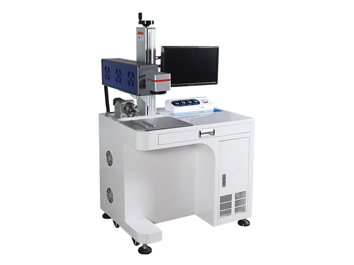 The First Picture of Desktop Laser Engraving Machine for sale