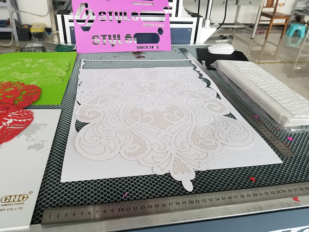 3D Dynamic Focus RF CO2 Laser Marking/Engraving/Cutting Machine for Paper Card Project