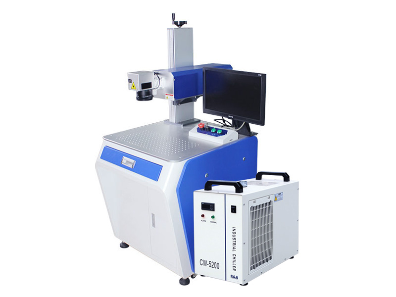 The First Picture of UV Laser Marking System for Plastic, Silicon, Glass, Ceramic