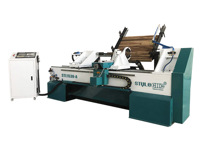 Full Automatic Feeding CNC Wood Turning Lathe Machine