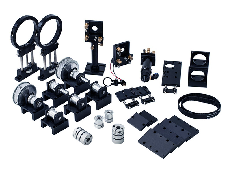 Full Set Laser Parts to Assemble CO2 Laser Engraving Cutting Machine