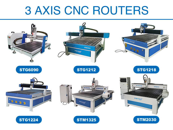 3 Axis CNC Routers