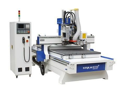 Disc Auto Tool Changer CNC Router STM1325D with ATC system