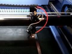 Video of gasket laser cutting machine STJ9060