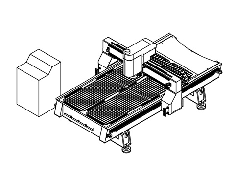 The key points for a good quality CNC wood router