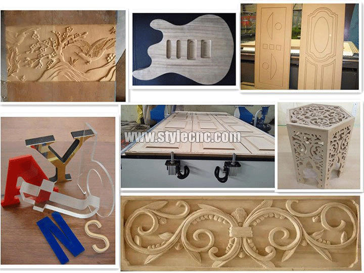 Sign making projects of CNC router machine