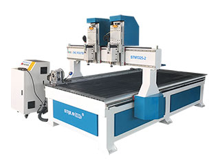 Dual Spindles Wood CNC Machine with 4x8 Table Size for sale with low price