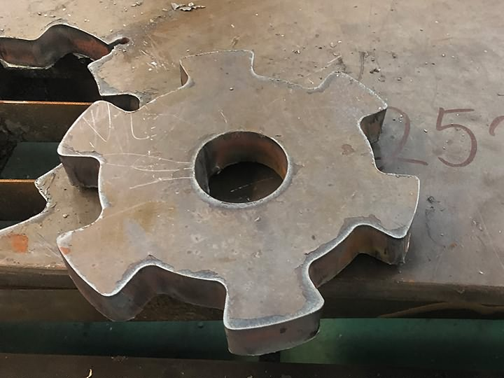 Plasma cutting samples