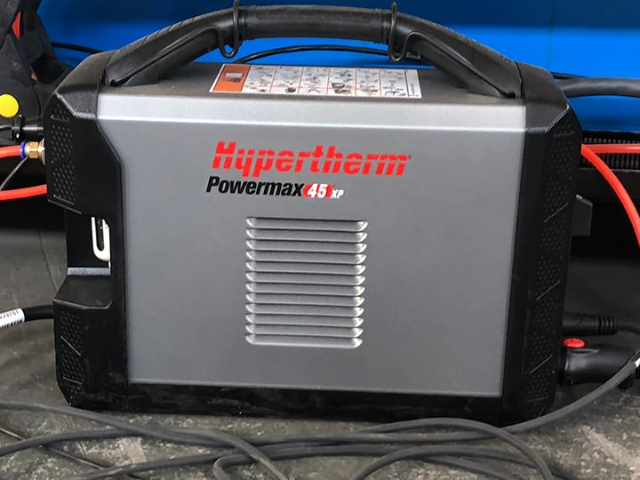 Hypertherm Powermax plasma cutting source