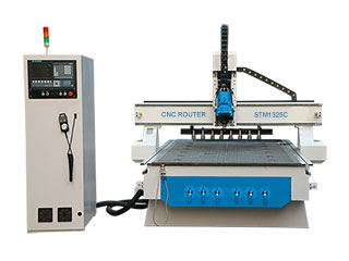 Affordable Linear ATC CNC Router with Auto Tool Changer