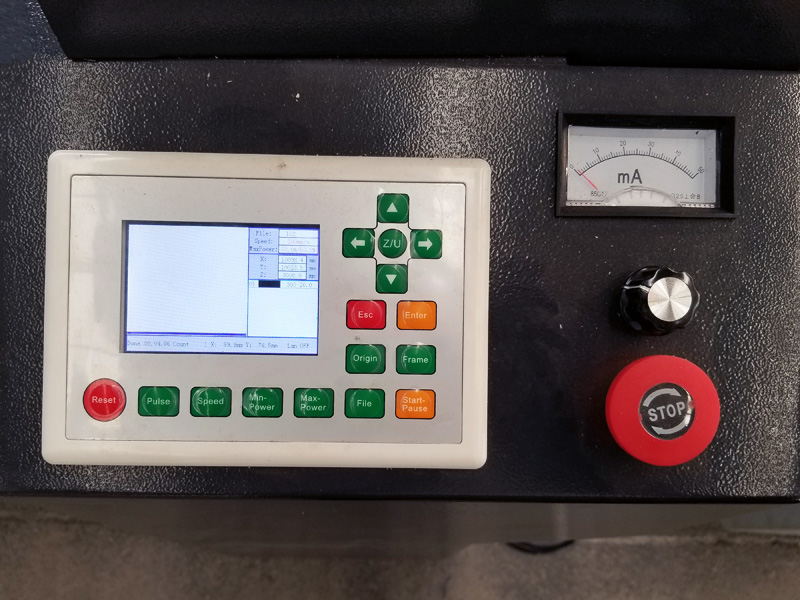 RD controller of laser engraving machine