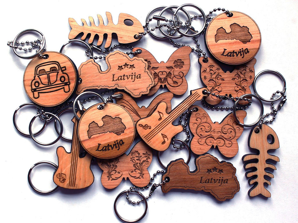 woodcraft laser cutting samples
