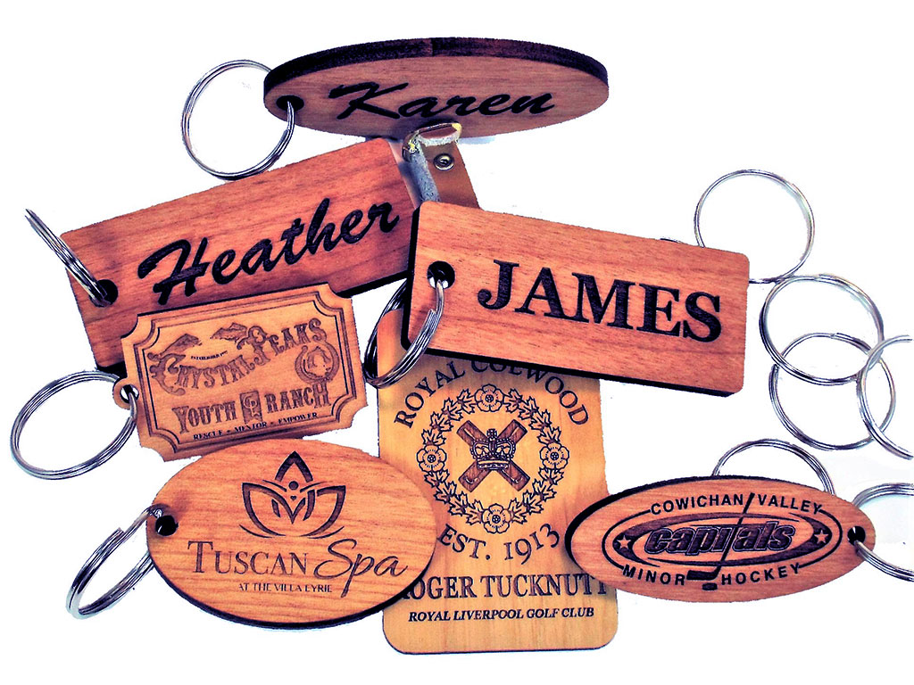 woodcraft laser engraving samples