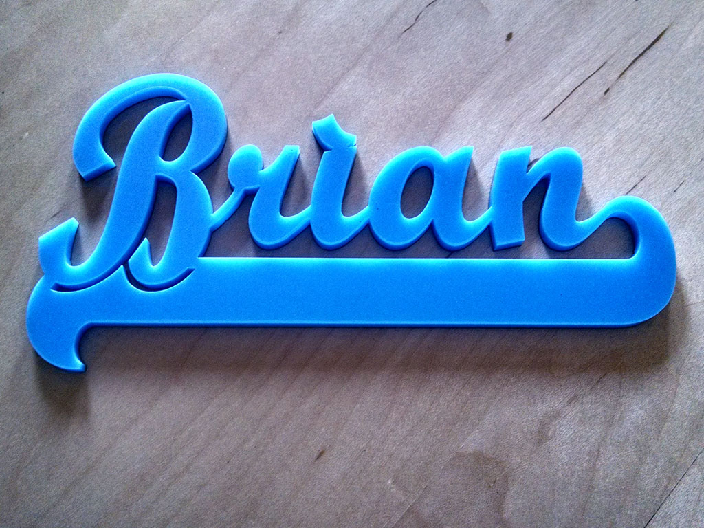 Acrylic laser cutting machine samples by CO2 laser cutter