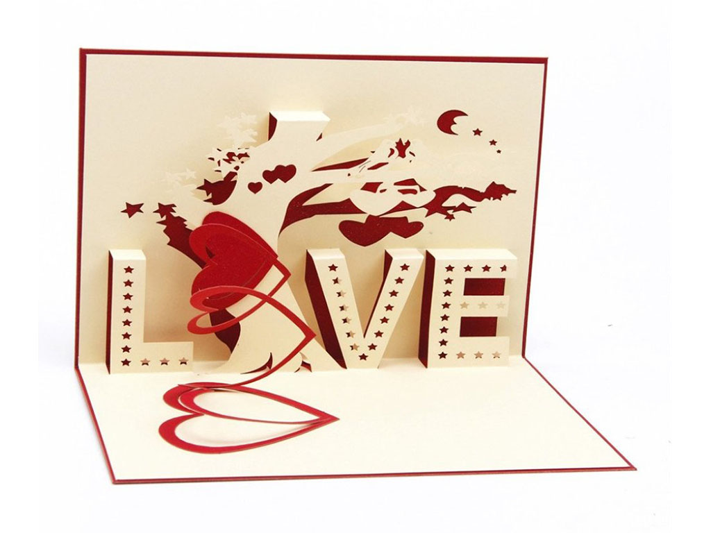 laser cutting machine cut paperboard