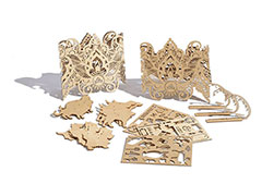 Plywood laser cutting machine applications and samples
