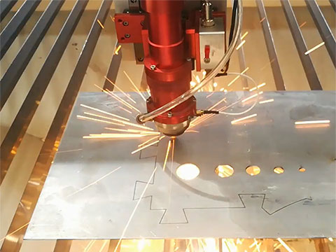 Mixed metal and nonmetal laser cutting machine STJ1325M