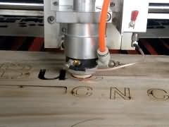 Video of 20mm wood cutting by mixed laser cutting machine