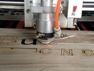 20mm wood cutting by mixed laser cutting machine