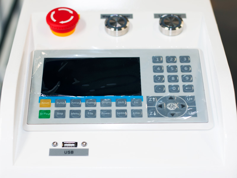 Acrylic laser cutting machine controller