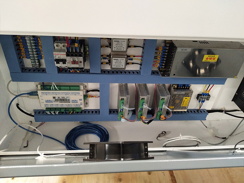 Acrylic laser cutting machine control box