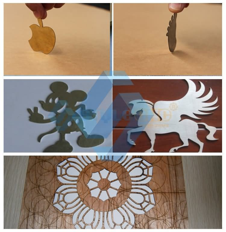 mixed laser cutter projects