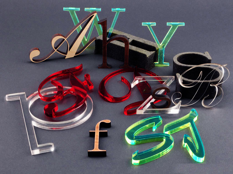 Acrylic laser cutter projects