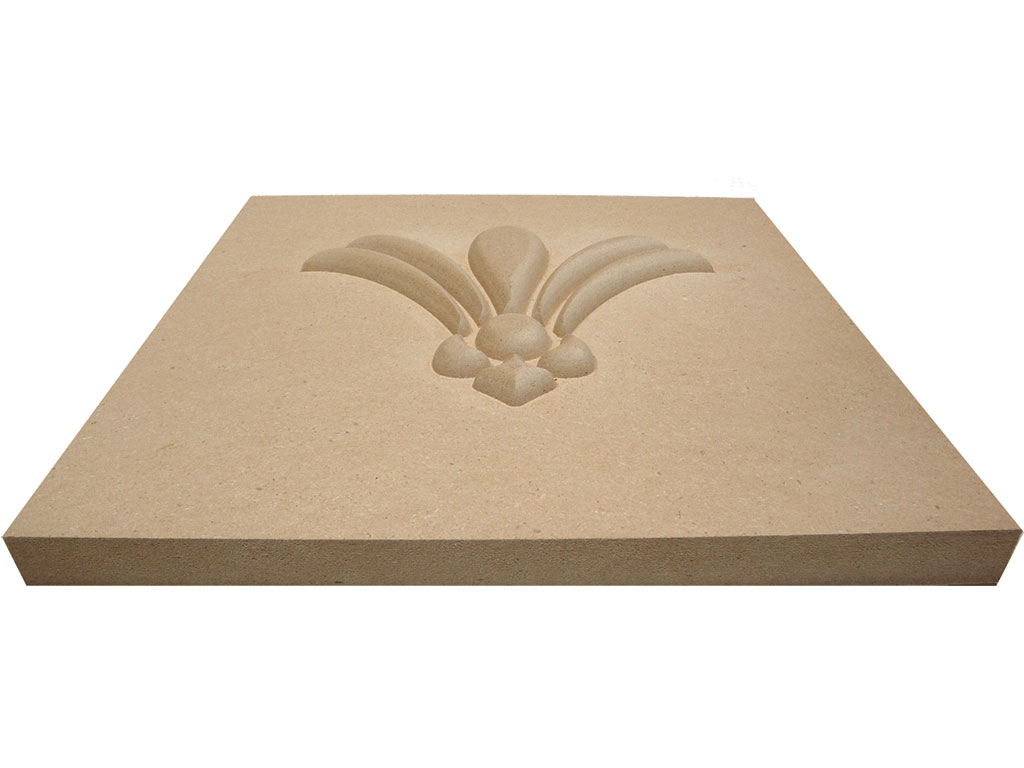 CNC router carving MDF applications