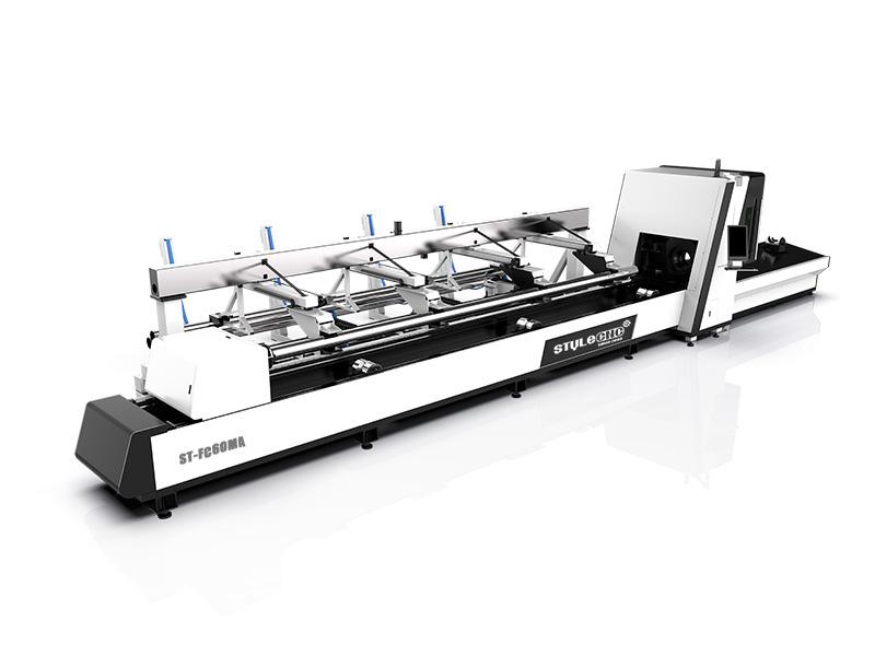 Metal pipe laser cutting machine