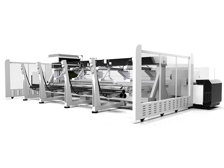 Metal pipe and tube laser cutting machine details