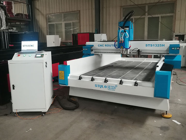 The First Picture of Multi-Purpose Stone CNC Machine for Headstone, Memorial Stone, Tombstone