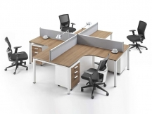 Office Cubicle Made by Panel Furniture Production Line