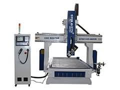 4 Axis CNC wood router with ATC system for sale