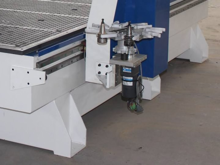Automatic Tool Changer for 4 axis CNC wood router