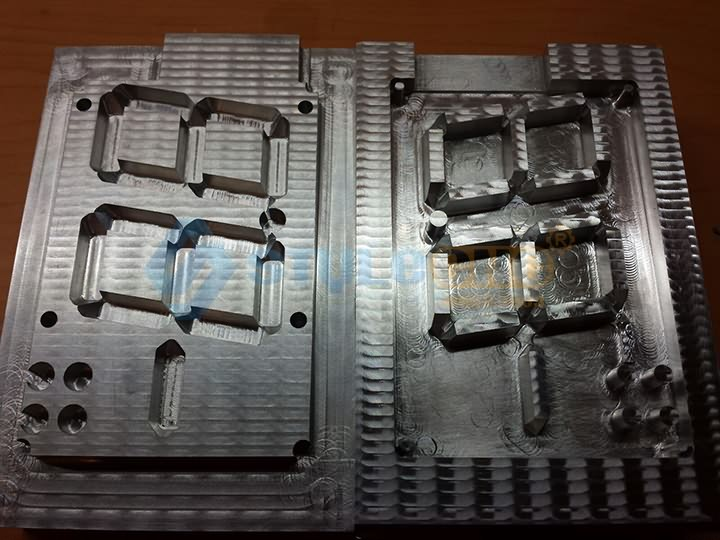CNC metal engraving machine sample