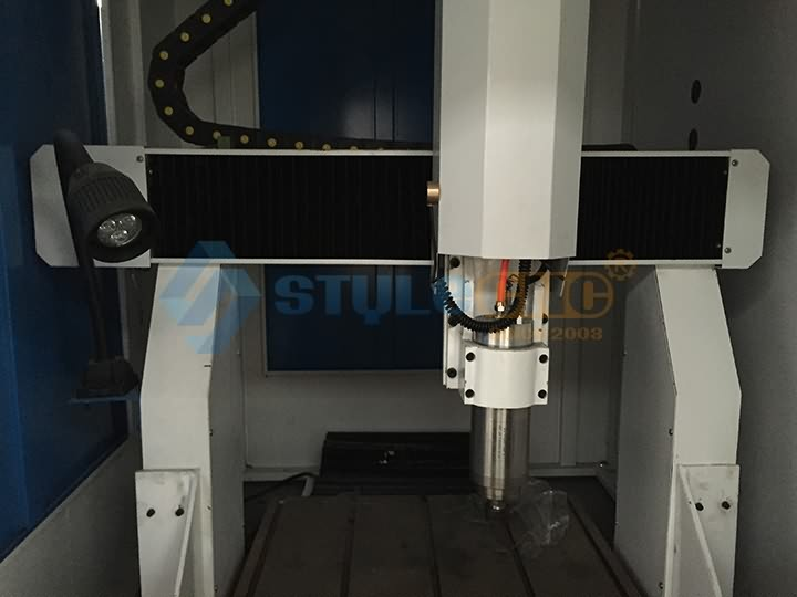 spindle of CNC metal engraving machine