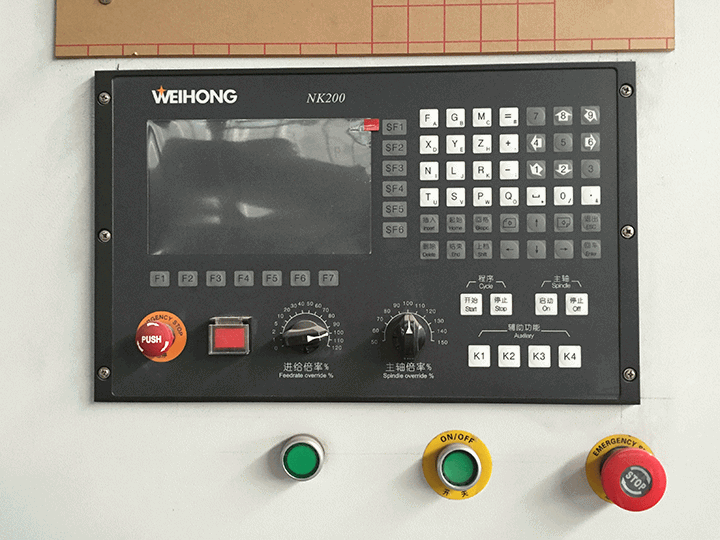 Nk200 CNC control system