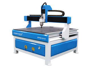 Low Cost 3 Axis CNC Router STG1212 with 4x4 Table Size