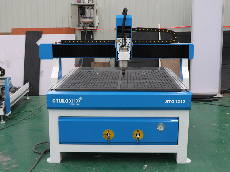 The Third Picture of Low Cost 3 Axis CNC Router STG1212 with 4x4 Table Size