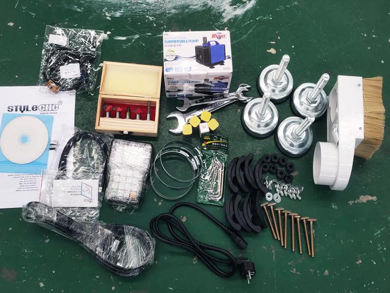 4x4 CNC router tools