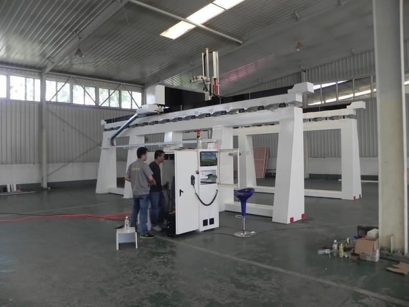 Large Gantry 5 Axis CNC Router