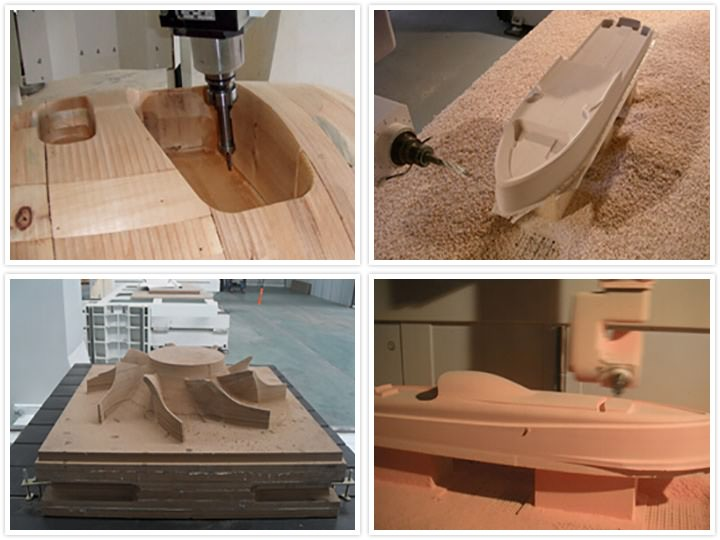 Affordable 5 axis CNC router projects